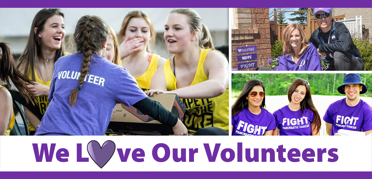 We love our volunteers image